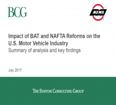 Border Adjustment Tax and Changes to NAFTA | Motor